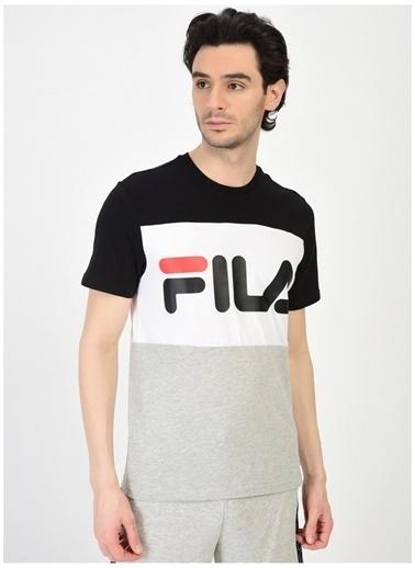 Fila Fila Day Tee Erkek T-Shirt Siyah